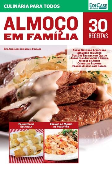 Culinária Para Todos Ed 4 - Almoço em Família - cover
