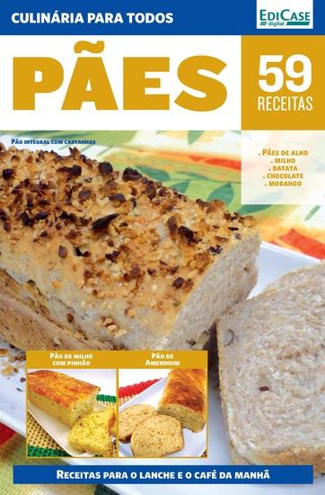 Culinária Para Todos Ed 5 - Pães - cover