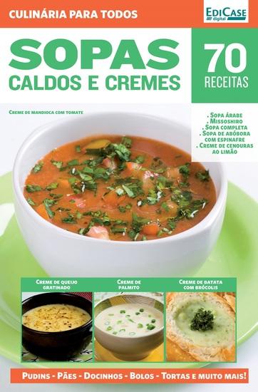 Culinária Para Todos Ed 7 - Sopas Caldos e Cremes - cover