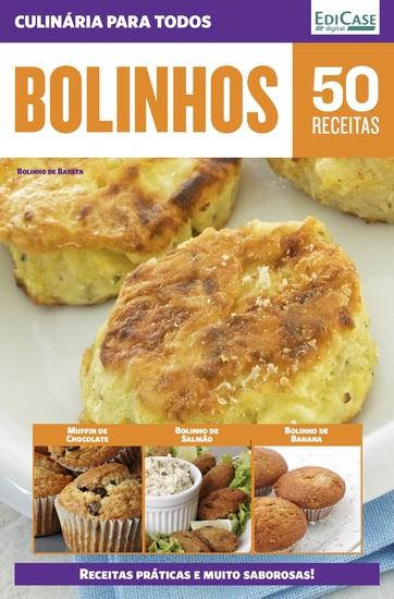 Culinária Para Todos Ed 8 - Bolinhos - cover