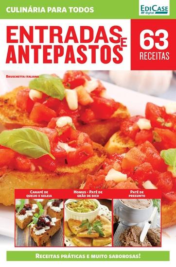 Culinária Para Todos Ed 9 - Entradas e Antepastos - cover