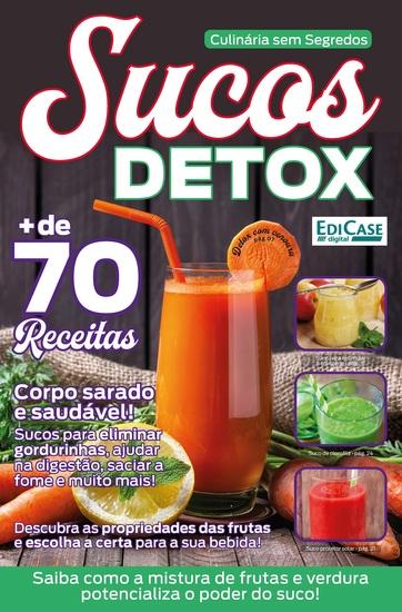 Culinária Sem Segredos Ed 1 - Sucos Detox - cover