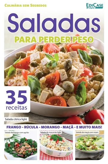 Culinária Sem Segredos Ed 16 - Saladas Para Perder Peso - cover