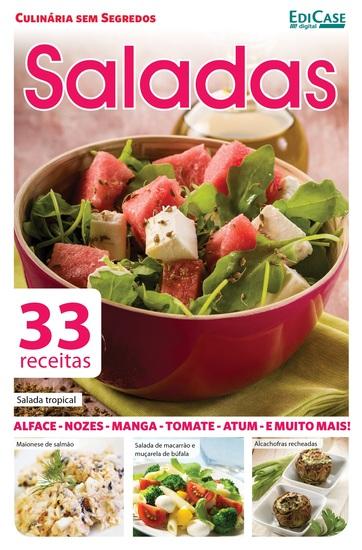 Culinária Sem Segredos Ed 17 - Saladas - cover