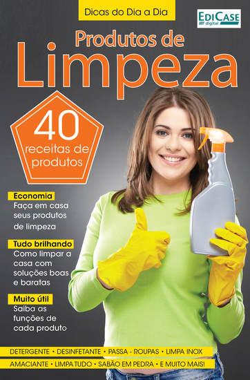 Dicas do Dia a Dia Ed 28 - Produtos de Limpeza - cover