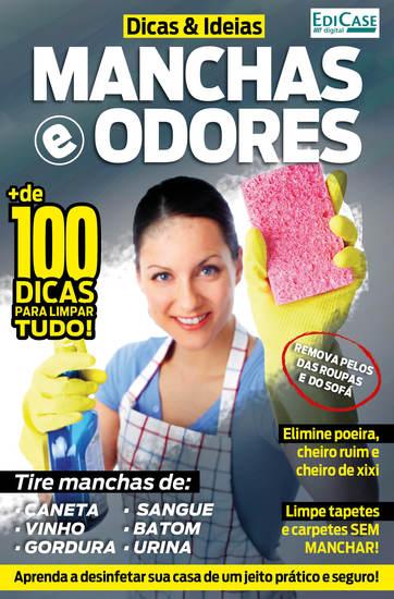 Dicas e Idéias Ed 1 - Manchas e Odores - cover