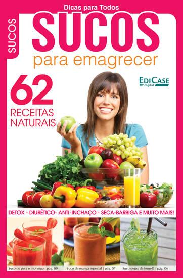 Dicas Para Todos Ed 7 - Sucos Para Emagrecer - cover
