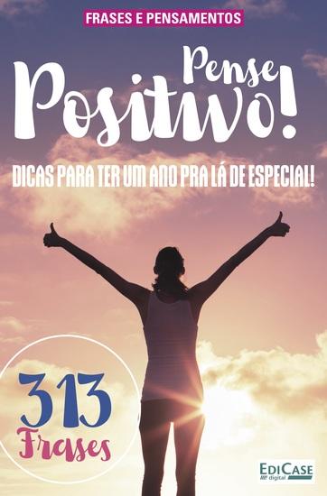 Frases e Pensamentos Ed 10 - Pense Positivo - cover