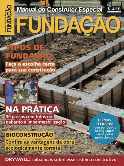 Manual do Construtor Especial Ed 8 - Fundação - cover