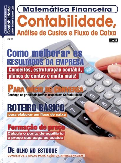 Matemática Financeira Ed 8 - Contabilidade Análise de Custos e Fluxo de Caixa - cover