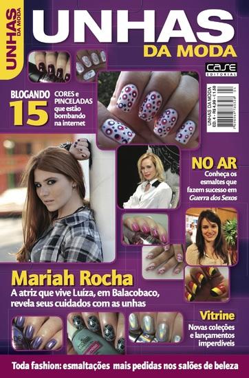 Unhas da Moda Ed 4 - Mariah Rocha - cover