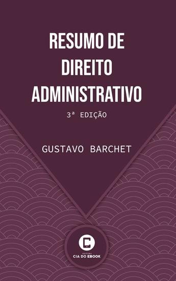 Resumo de Direito Administrativo - 3ª edição - cover