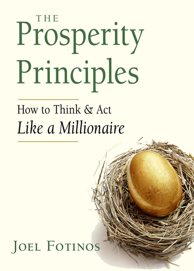 The Prosperity Principles - How to Think and Act Like a Millionaire - cover