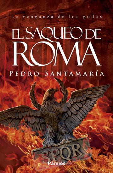 El saqueo de Roma - cover