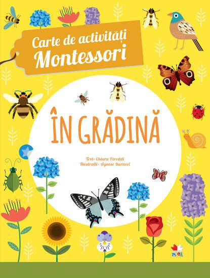 Carte De Activitati Montessori in Gradina - cover