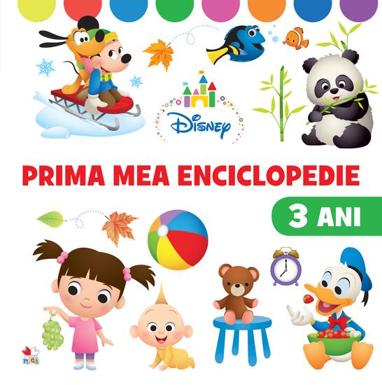 PRIMA MEA ENCICLOPEDIE 3 ani - cover