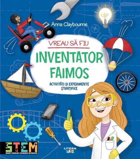 Vreau sa fiu inventator faimos - cover