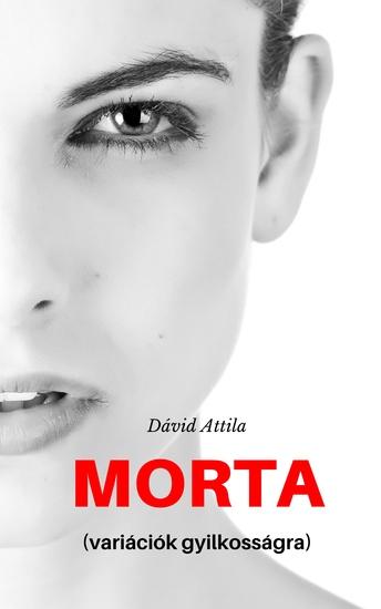 Morta - variációk gyilkosságra - cover