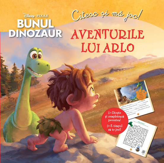 Aventurile lui Arlo - Bunul Dinozaur - cover