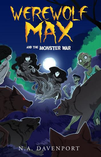 Werewolf Max and the Monster War - cover