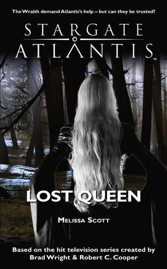 STARGATE ATLANTIS Lost Queen - cover