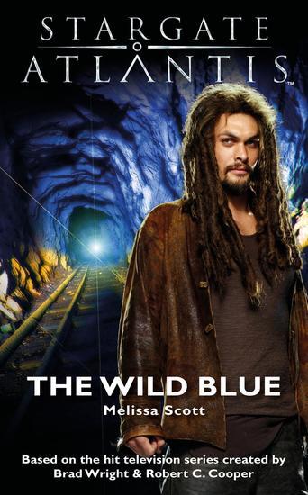 STARGATE ATLANTIS The Wild Blue - cover