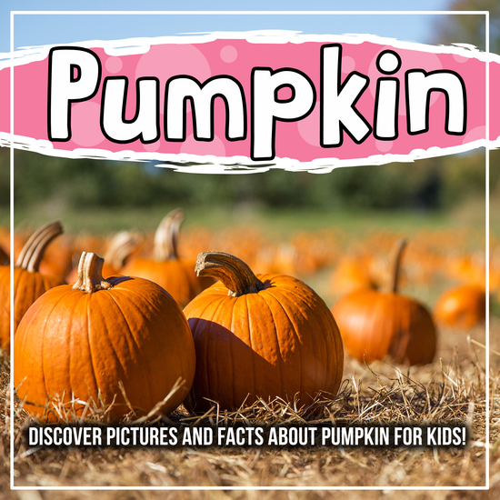Pumpkin: Discover Pictures and Facts About Pumpkin For Kids! - cover