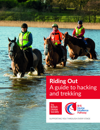 BHS Riding Out - A guide to hacking and trekking - cover