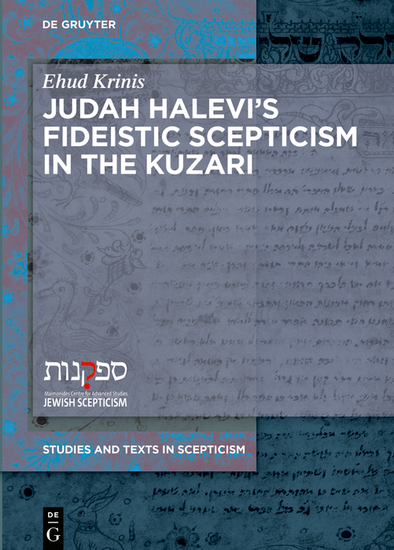 Judah Halevi's Fideistic Scepticism in the Kuzari - cover