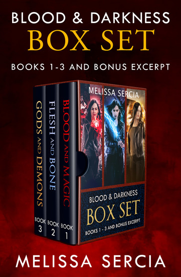Blood & Darkness Box Set - cover