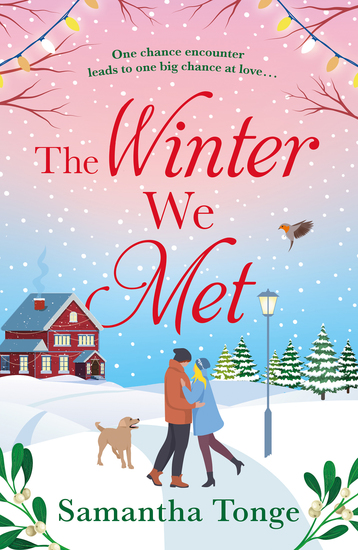 The Winter We Met - a heartwarming feel-good Christmas romance - cover