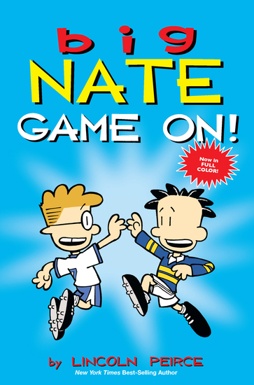 Big Nate: Game On! - cover