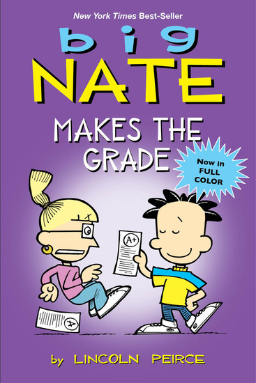Big Nate Makes the Grade - cover