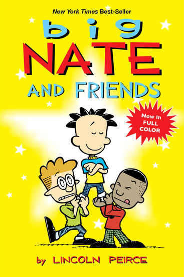 Big Nate and Friends - cover