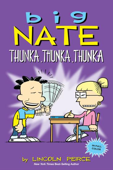 Big Nate: Thunka Thunka Thunka - cover