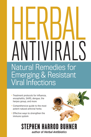 Herbal Antivirals - Natural Remedies for Emerging & Resistant Viral Infections - cover