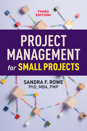 Project Management for Small Projects Third Edition - cover