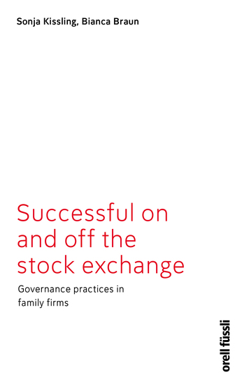 Successful on and off the stock exchange - Governance practices in family firms - cover