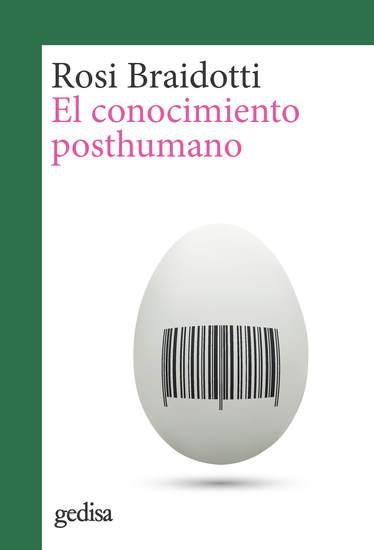El conocimiento posthumano - cover
