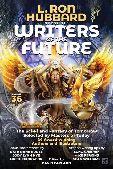 L Ron Hubbard Presents Writers of the Future Volume 36 - Bestselling Anthology of Award-Winning Science Fiction and Fantasy Short Stories - cover