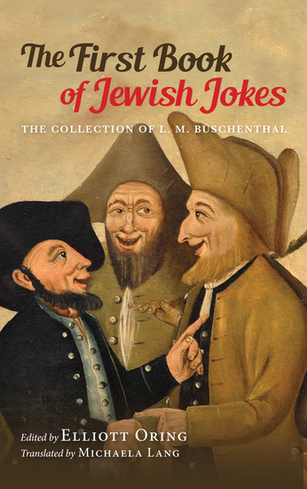 The First Book of Jewish Jokes - The Collection of L M Büschenthal - cover