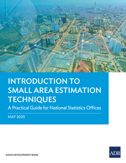 Introduction to Small Area Estimation Techniques - A Practical Guide for National Statistics Offices - cover