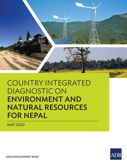 Country Integrated Diagnostic on Environment and Natural Resources for Nepal - cover
