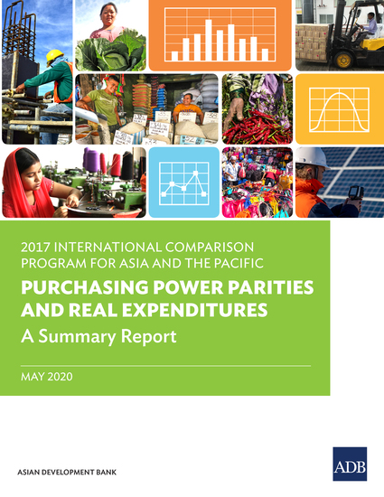 2017 International Comparison Program in Asia and the Pacific - Purchasing Power Parities and Real Expenditures—A Summary Report - cover
