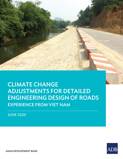 Climate Change Adjustments for Detailed Engineering Design of Roads - Experience from Viet Nam - cover