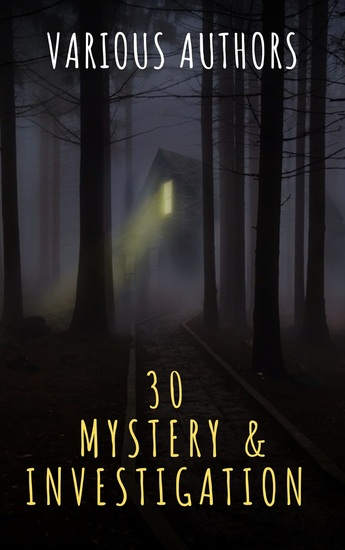 30 Mystery & Investigation masterpieces - cover