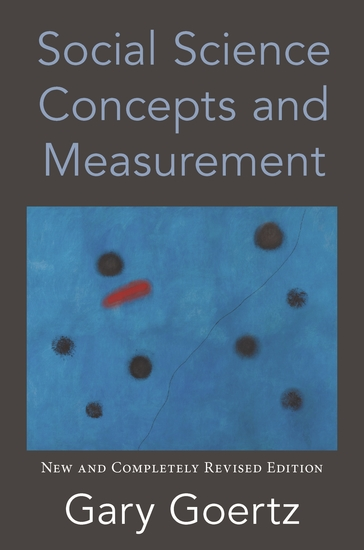 Social Science Concepts and Measurement - New and Completely Revised Edition - cover