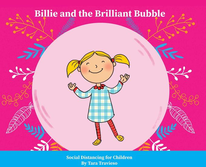 Billie and the Brilliant Bubble - Social Distancing for Children - cover