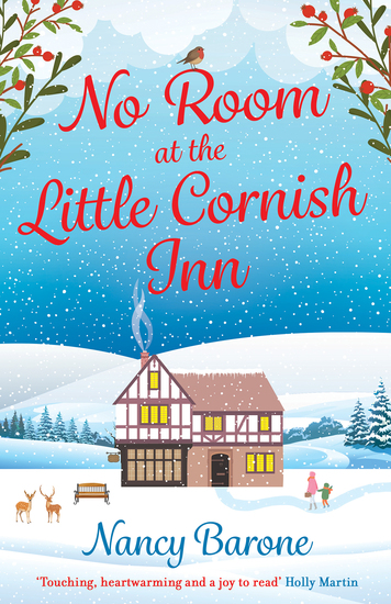 No Room at the Little Cornish Inn - a sweet and uplifting Christmas romance - cover
