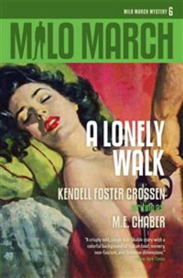 Milo March #6 - A Lonely Walk - cover